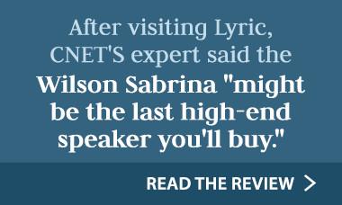 Wilson Sabrina speakers