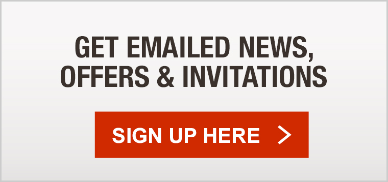 Get Emailed News, Offers and Invitations