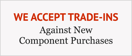 We Accept Trade-Ins